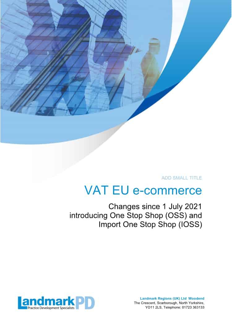 EU e commerce changes July 2021